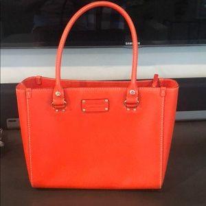 Kate Spade Orange Pocketbook Purse